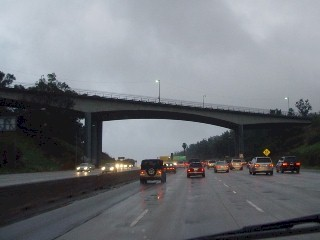 Mulholland Drive Bridge, 405 Freeway North