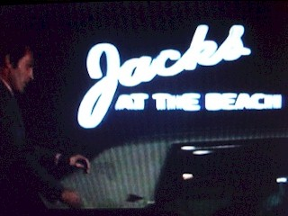 Night view of Jacks at The Beach Restaurant