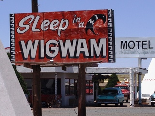 The Cozy Cone Motel, AKA Wigwam Village, Holbrook, Arizona