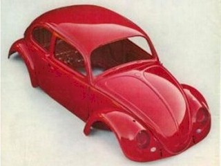 Shell of the Beetle, Volkswagen, that is.