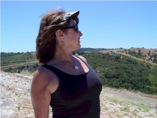 Carrie McCoy at Calcareous Vineyards, Paso Robles, California
