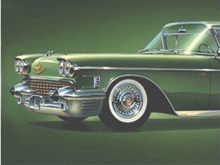 1958 Cadillac Series 62 Sedan similar to the one in this story.