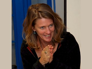 Author, Amy Irvine at 2008 Confluence Writing Festival, Moab, Utah.