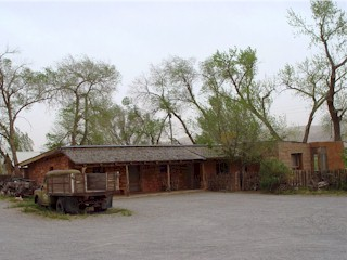 The ranch house at Moab Ranch, date unknown.