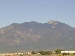Mountains Near Taos, New Mexico