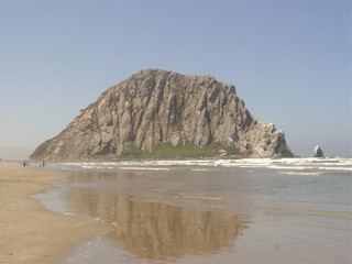 Image of Morro Rock, Moro Bay, California