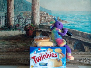 Plush Kokopelli is the last and final Hostess Twinkies spokesmodel.