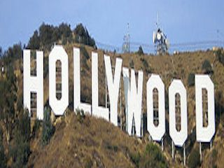 The Hollywood Sign, Los Angeles, California.